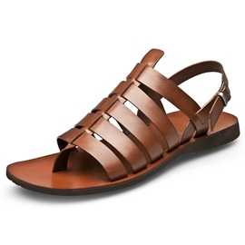 Ericdress Leather Thong Buckle Men's Sandals