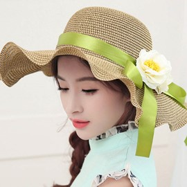 Ericdress Romantic flouncing Sunhat for Holiday
