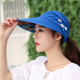 Ericdress Anti UV Foldable Sunhat for Women