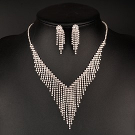 Ericdress Tassel Two-Piece Jewelry Set for Women