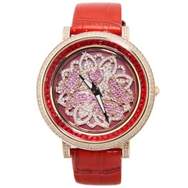 Ericdress Exquisite Big Dial Waterproof Women's Watch