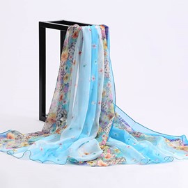 Ericdress Chiffon Long Summer Scarf for Women