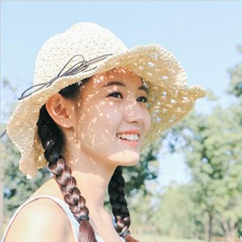 Ericdress Hollow-Out Cute Girls's Sunhat'