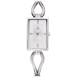 Eridress Square Quartz Waist Watch for Office Lady