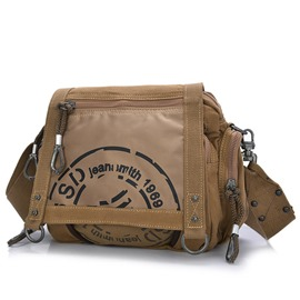 Ericdress European Vintage Thread Decorated Canvas Men's Bag