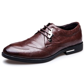 Ericdress Leather Sequins British Men's Shoes
