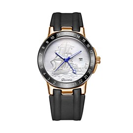 Ericdress Creative Diamante Big Dial Waterproof Watch