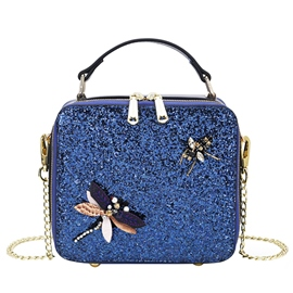 Ericdress Casual Sequins Dragonfly Mini Handbag