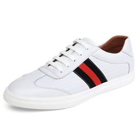 Ericdress Leather Stripe Men's Skater Shoes