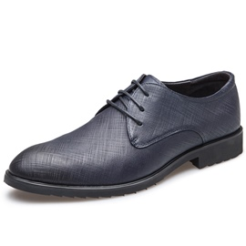 Ericdress Leather Embossed British Men's Shoes