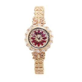 Ericdress Fully-Jewelled Shining Women's Watch