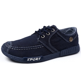 Ericdress Korean Denim Lace up Men's Casual Shoes