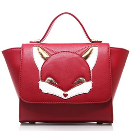 Ericdress Versatile Fox Applique Patchwork Wing Handbag