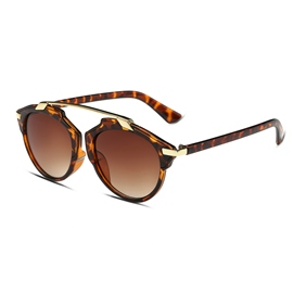 Ericdress Fashion Full Frame Brown Sunglasses