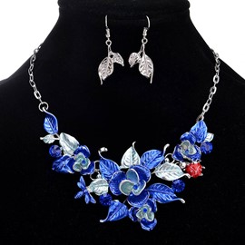 Ericdress High End Flower Jewelry Set for Women