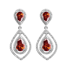 Ericdress Hot Micro Zircon Hollow-Out Fashion Earring