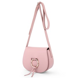 Ericdress Sweet Metal Circle Saddle Crossbody Bag