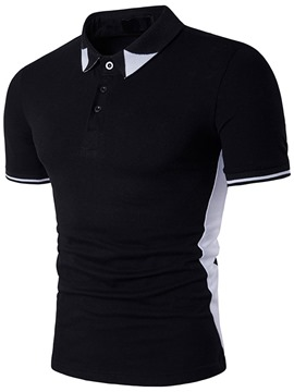 Ericdress Casual Style Short Sleeve Polo Men's T-Shirt