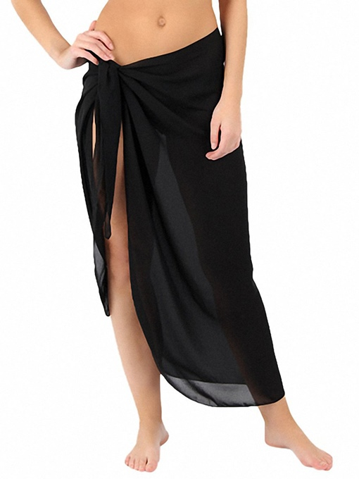 Ericdress Solid Color Simple Beach Dresses
