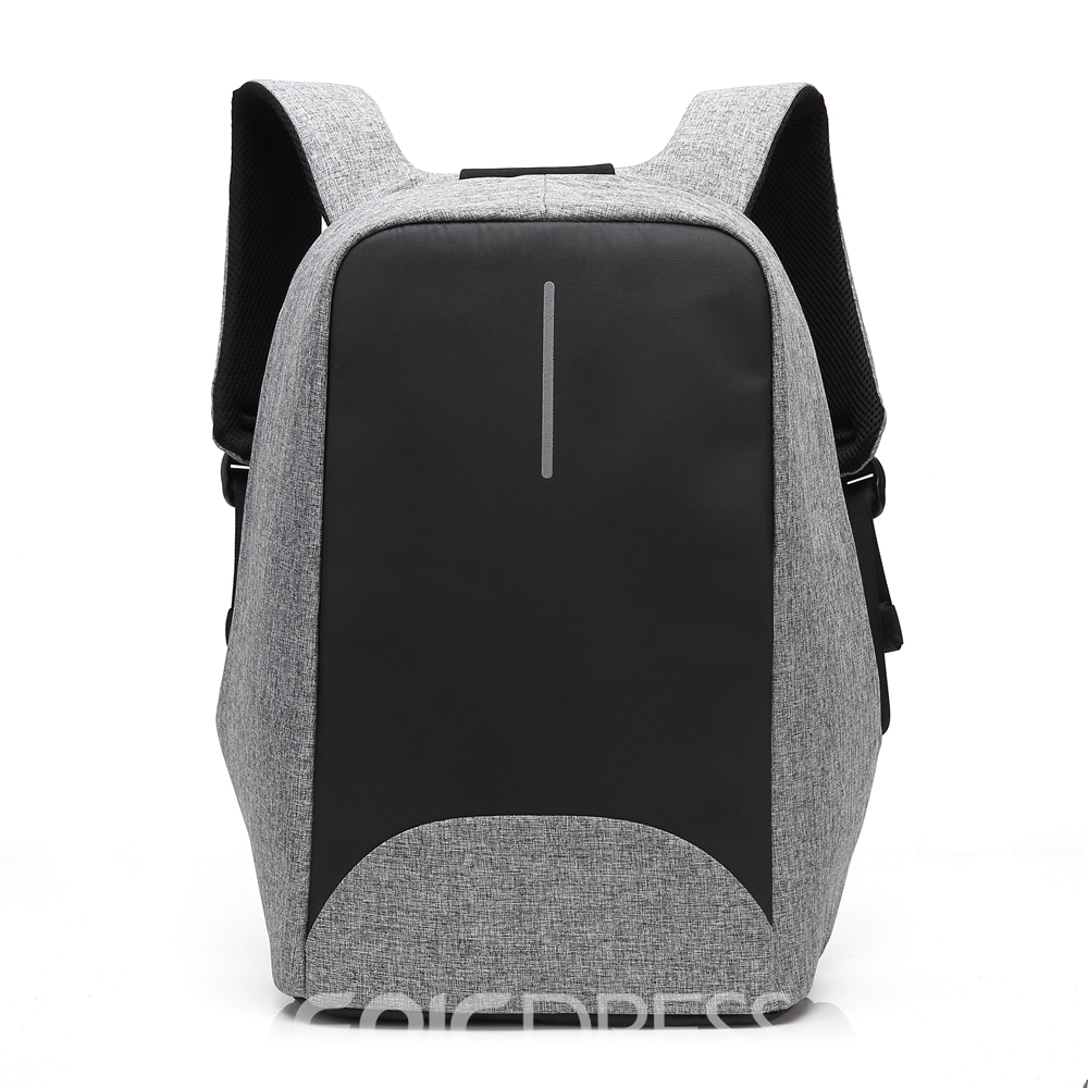Ericdress Plain Oxford Backpack Laptop Bags