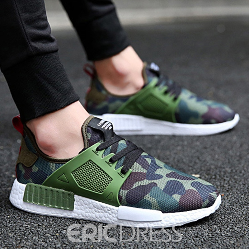 Ericdress Trendy Camouflage Patchwork Men's Athletic Shoes