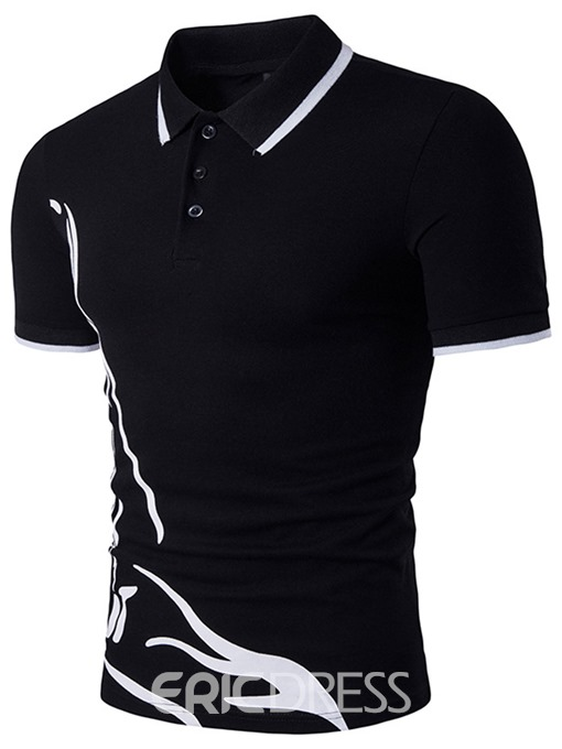 Ericdress Polo Casual Style Men's T-Shirt