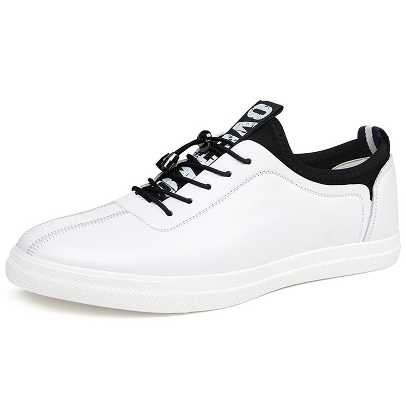 Ericdress Leather Patchwork Men's Skater Shoes