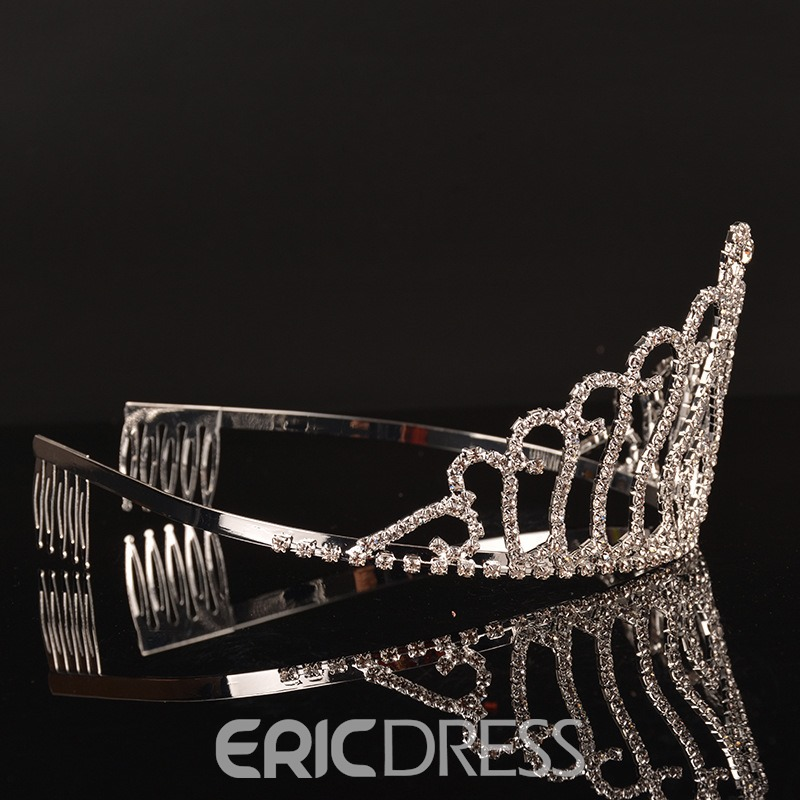 Ericdress Fully Jewelled Crown Hair Accessories