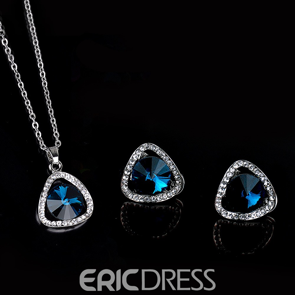 Ericdress Bride Rhinestone Two-Piece Jewelry Set
