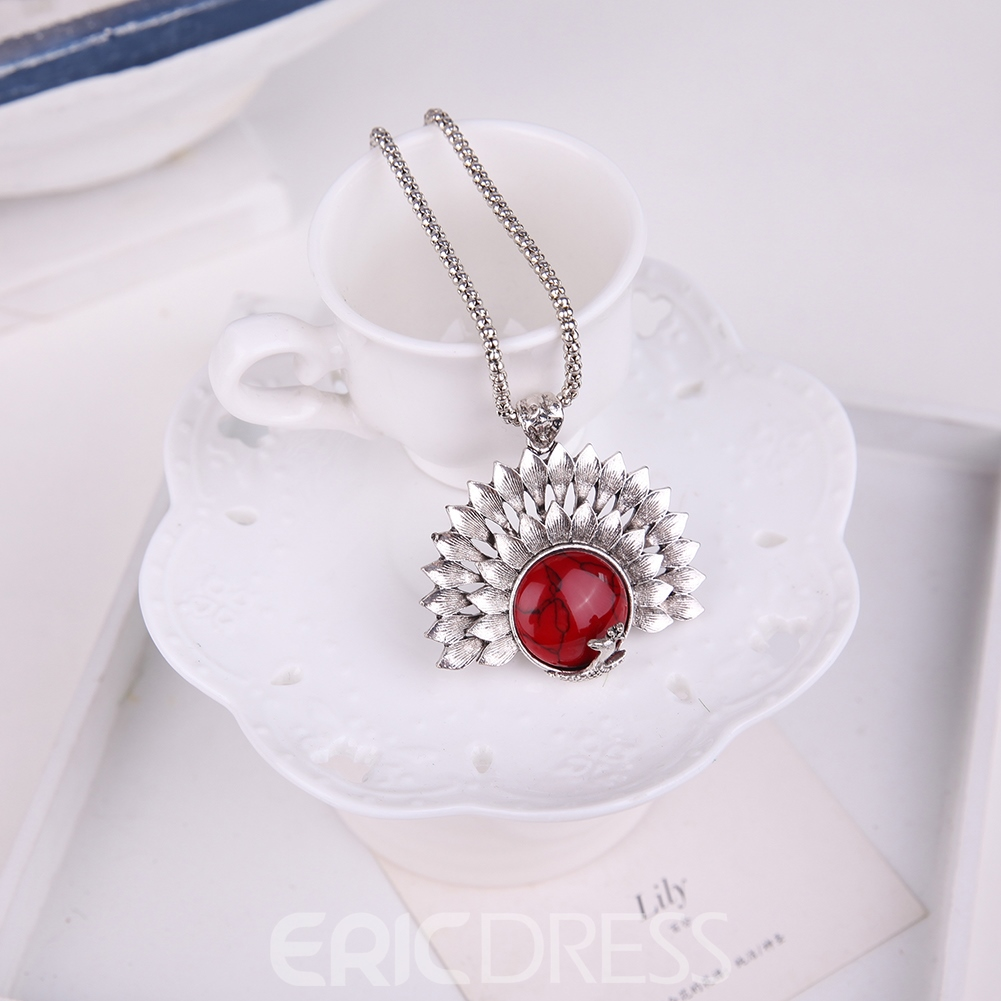 Ericdress Red Turquoise Cute Jewelry Set