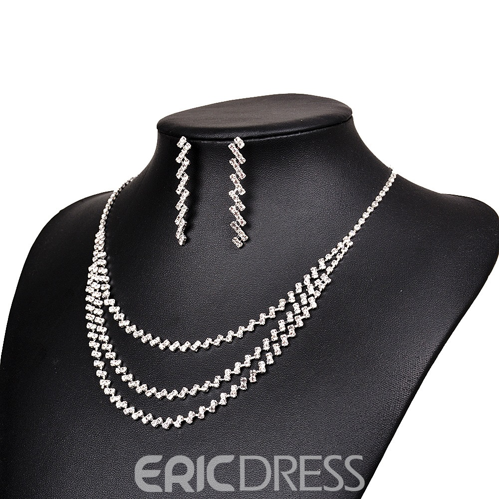 Ericdress Necklace& Earring Jewelry Set for Women