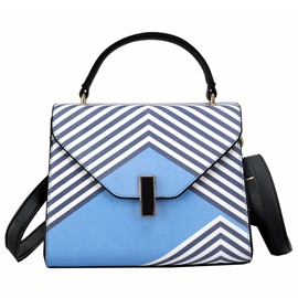 Ericdress European Geometric Print Handbag