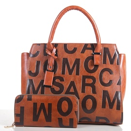 Ericdress Personality Letter Embossing Handbags(2 Bags)