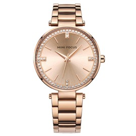 Ericdress MINIFOCUS Diamante 3ATM Waterproof Women's Watch
