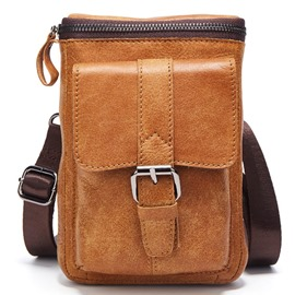 Ericdress Multipurpose Outdoor Nubuck Leather Men's Bag