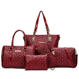 Ericdress Multipurpose Quilted Lining Handbags(6 Bags)