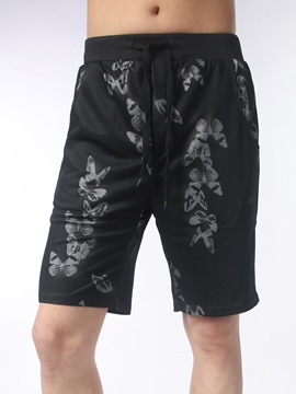 Ericdress Half Legs Print Loose Men's Shorts