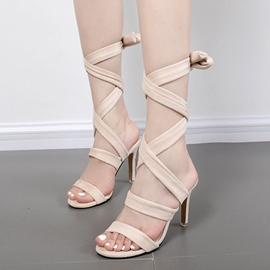 Ericdress Sexy Roman Cross Strappy Stiletto Sandals