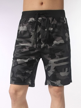 Ericdress Half Leg Camouflage Loose Casual Men's Shorts