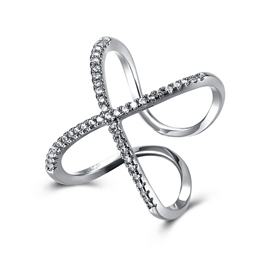 Ericdress Unqiue Adjustable Platinum Plating Ring