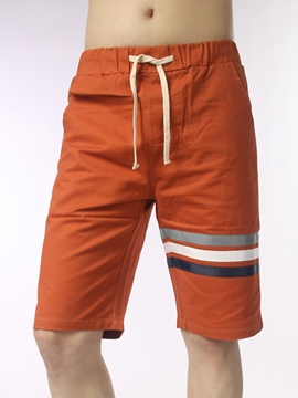 Ericdress Lace-Up Casual Loose Men's Shorts
