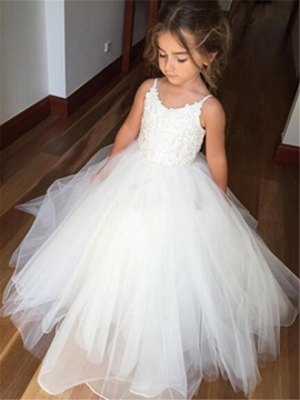 White Flower Girl Dresses & Cheap Dresses for Flower Girls ...