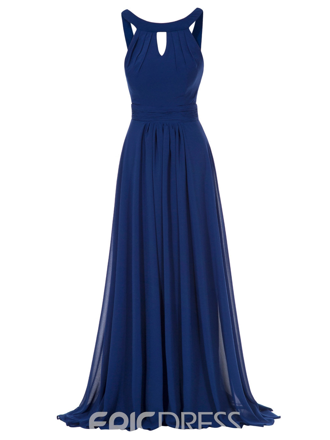 Ericdress A Line Halter Chiffon Ankle-Length Evening Dress