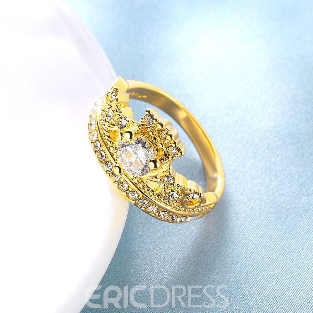 Ericdress Created White Sapphie Women's Wedding Ring