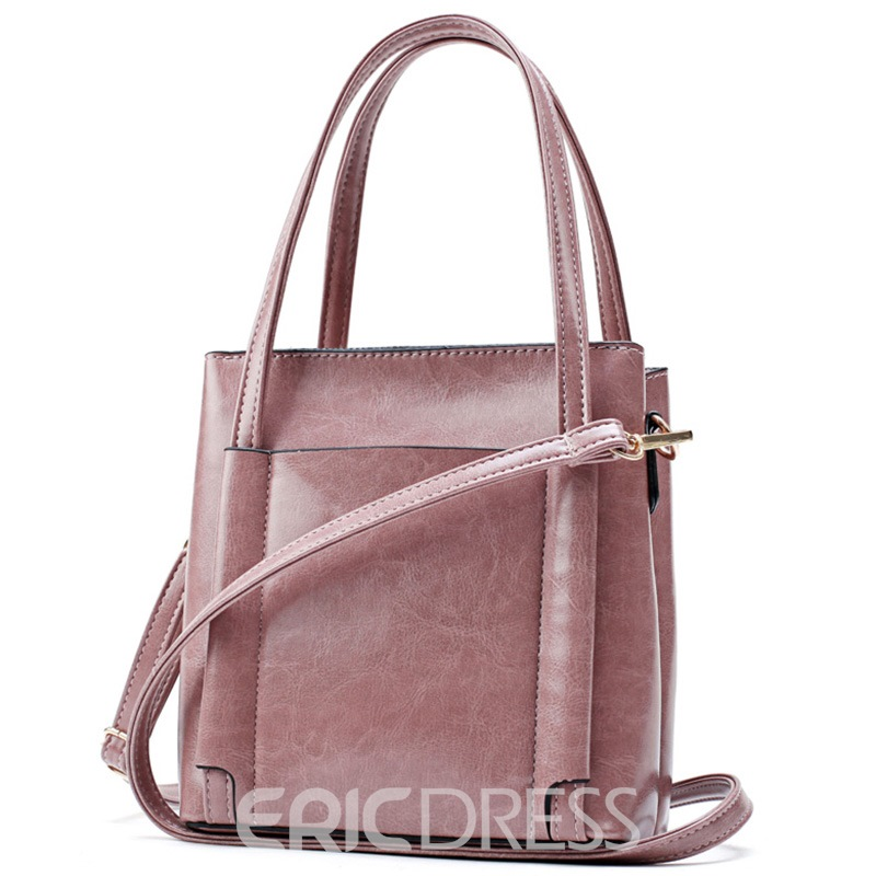 Ericdress Classic Thread Decorated Tote Bag