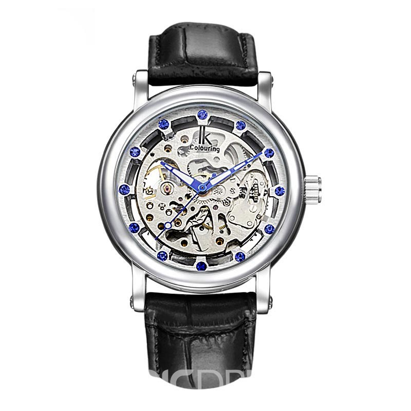 Ericdress JYY Full-Automatic Mechanical Diamante Men's Watch