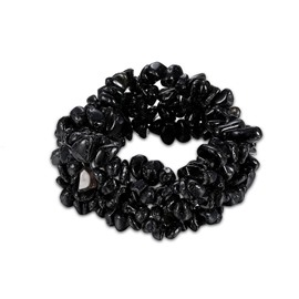 Ericdress Cool Black Rhinestone Women's Bracelet