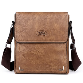 Ericdress Casual Men's Cowhide Shoulder Bag