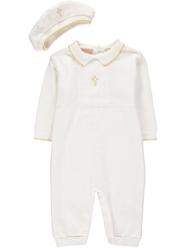 Ericdress Infant Baby-Boy's Christening Gown Romper