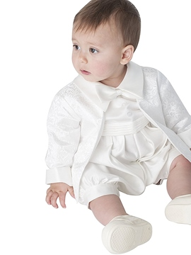 Ericdress Infant Baby Boy's 2-Pieces Romper Christening Gown